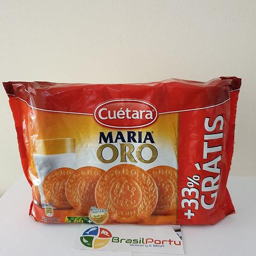 Cuétera Biscoito Maria ORO 800g