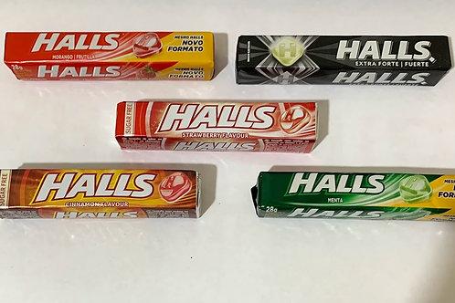 Balas Halls Sabores