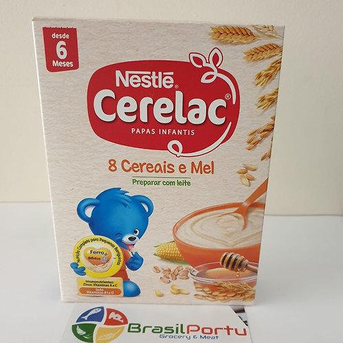 Nestlé Cerelac 8 Cereais e Mel 250g