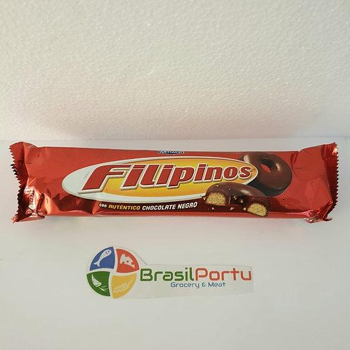Biscoito Filipinos Chocolate Negro 135g