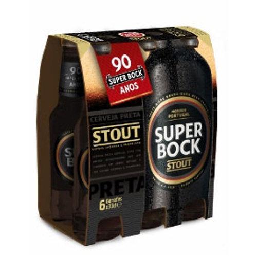 Cerveja Preta Super Bock 6 und