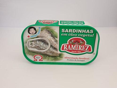 Sardinha Óleo Vegetal Ramirez