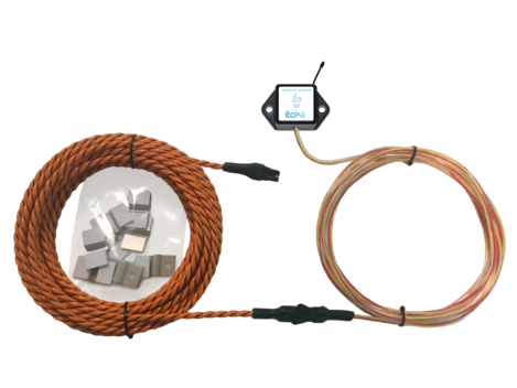 Itokii PRO WIRELESS WATER ROPE SENSOR - COIN CELL POWERED