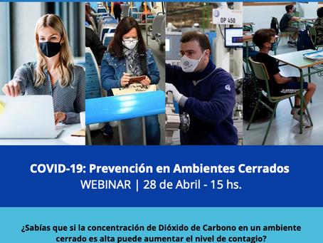 COVID-19 Prevención en ambientes cerrados