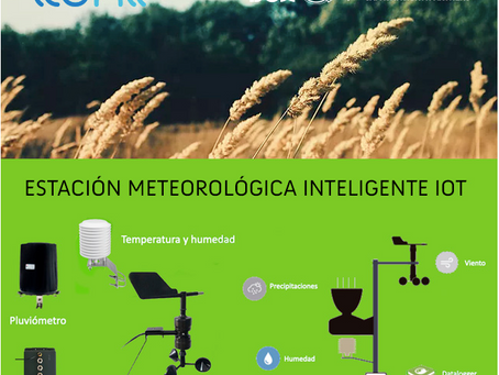 Nuevo Webinar : Lanzamos la Estación de Meteorología IoT