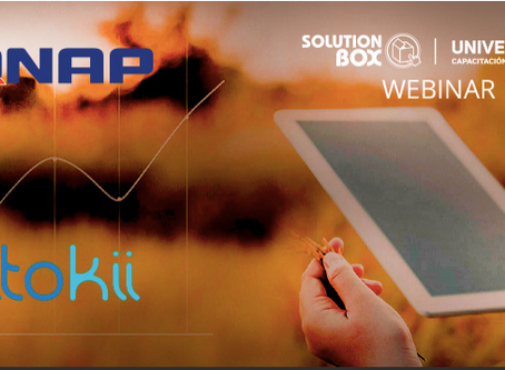 Webinar Aug, Friday 7. 2PM Buenos Aires. Connecting QNAP IoT Suite with Itokii Web Portal.