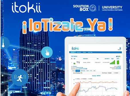 Webinar Aug, Friday 14. 2PM Buenos Aires. How to Build your own IoT product with Itokii.