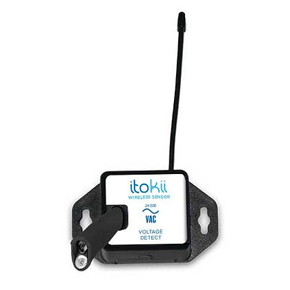 Itokii PRO 900Mhz WIRELESS VOLTAGE METERS 0- 500 VAC/VDC - COMMERCIAL COIN CELL