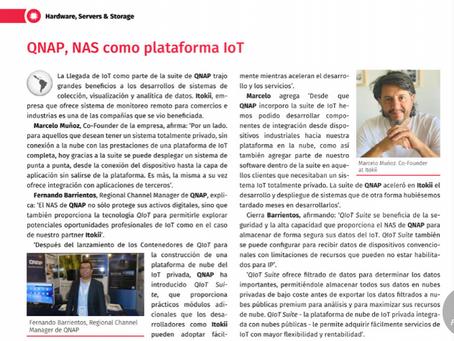 QNAP + Itokii in Prensario Latam.