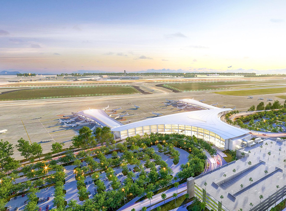 MSY Airport Construction Rendering