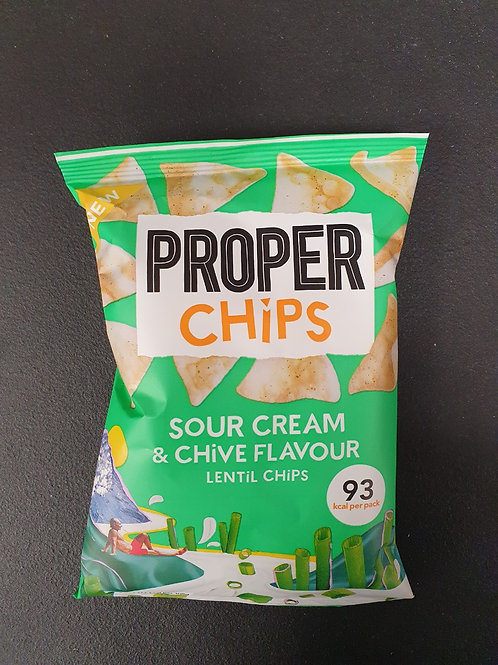 Proper Chips Sour Cream & Chives
