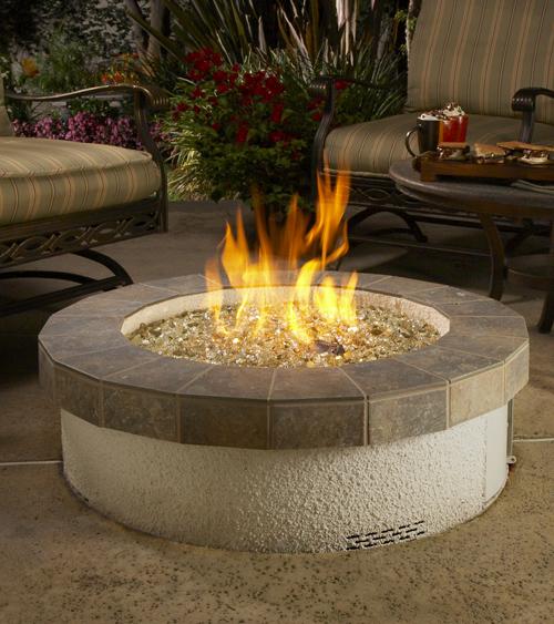 Stucco Fire Pit