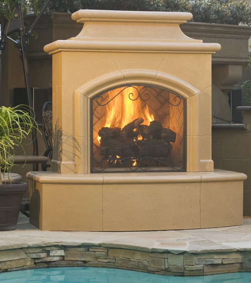 Mariposa Fireplace