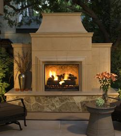 Grand Cordova Fireplace