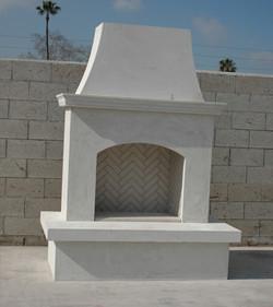 Contractors Model Fireplace