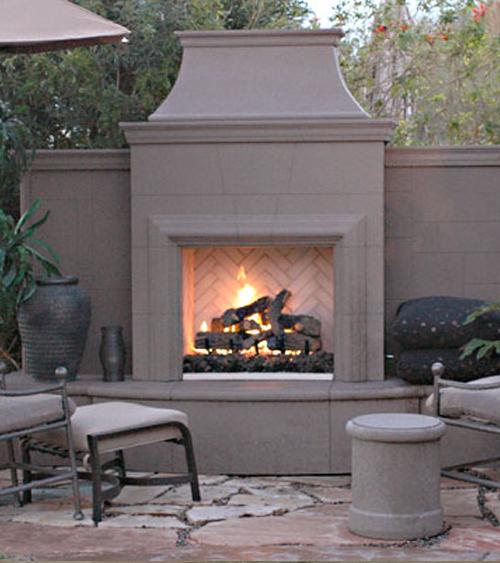 Grand Petite Cordova Fireplace