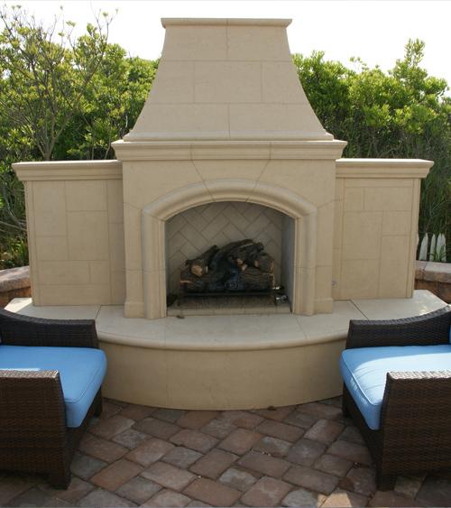 Grand Phoenix Fireplace