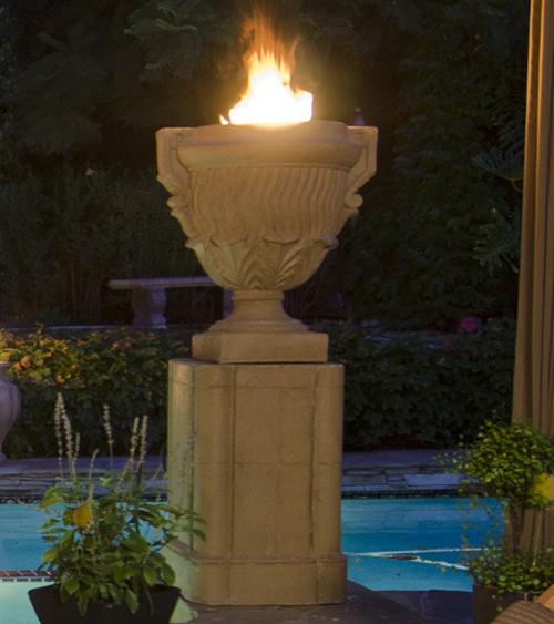 Piage Fire Urn Pedesta