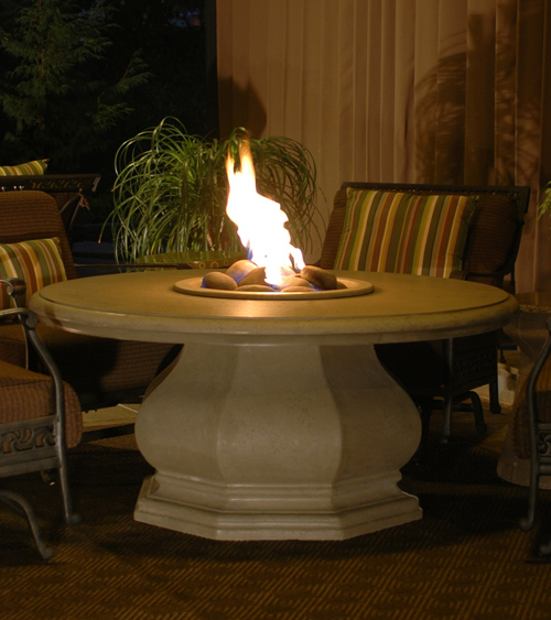 Chat Height Octagon Firetable