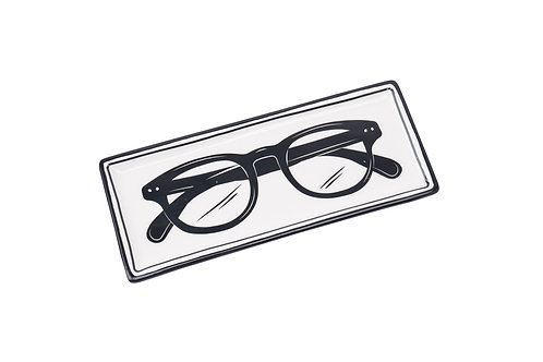DAPPER CHAP 'FOR YOUR EYES ONLY' GLASSES PLATE
