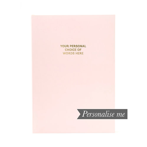 COLOURBLOCK™ A5 Personalised Notebook - Very Berry