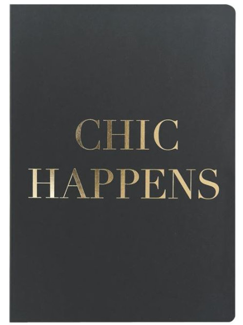 CHIC HAPPENS - A5 Notebook