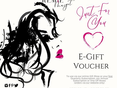 Remie Margot E-Gift Voucher