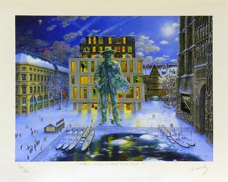 Vervisch-Meilleurs souvenirs du Musée Claude Monet-Estampe numérigraphique-56x70