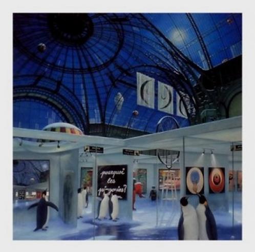 Vervisch - Le Grand Palais by night - Estampe numérigraphique - 58x56 cm