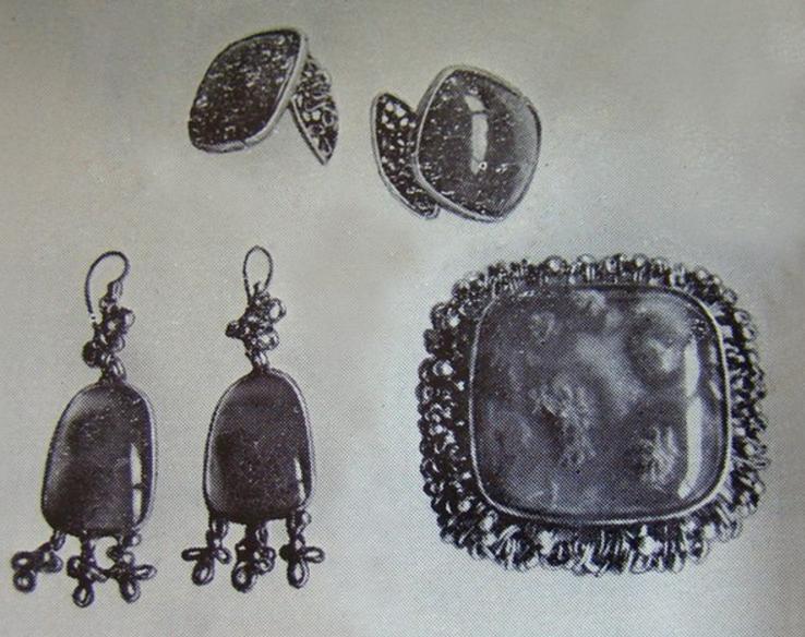 Гарнитур_Весна_из комплекта_Времена года_1969 год