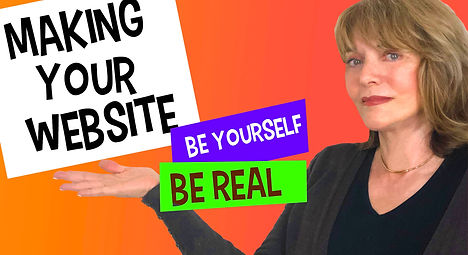 Candace -Making Your Website - Be Real
