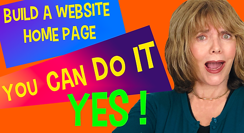 Candace and build a website homepage