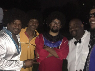 I had the honor of being the MC and opening act for an amazing Earth- Wind-And-Fire Tribute Band. Gr