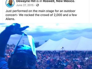 Corporate Magician Dewayne Hill Recalls performance in Roswell, NM.