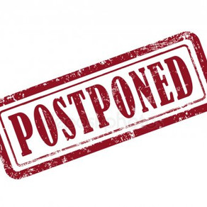 March 1st Meeting Postponed