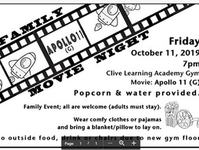 October Events at Clive Learning Academy
