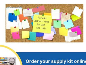 School Supply Kits now available for the 2020-2021 school year; order today!