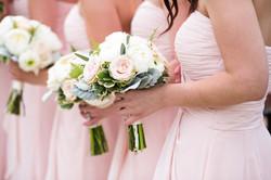 bridesmaid close up