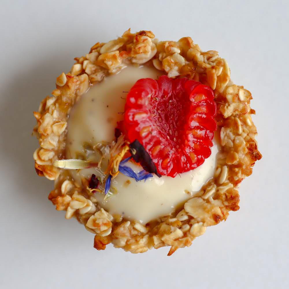 Mini Tartelettes Base Nature Crème soja Vanille