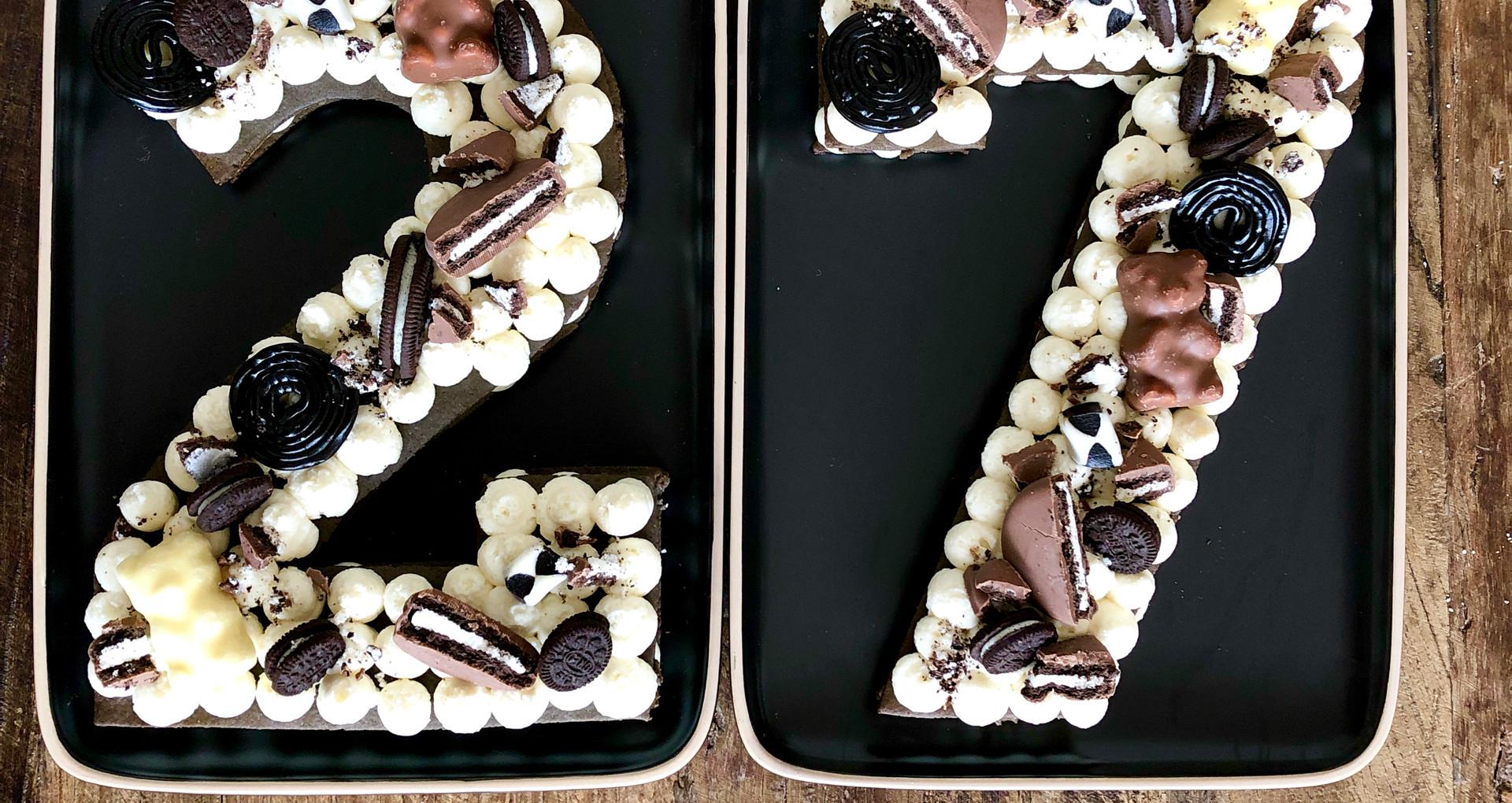 Number Cake Oreo