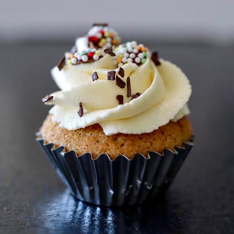 Mini Cupcake Vanille