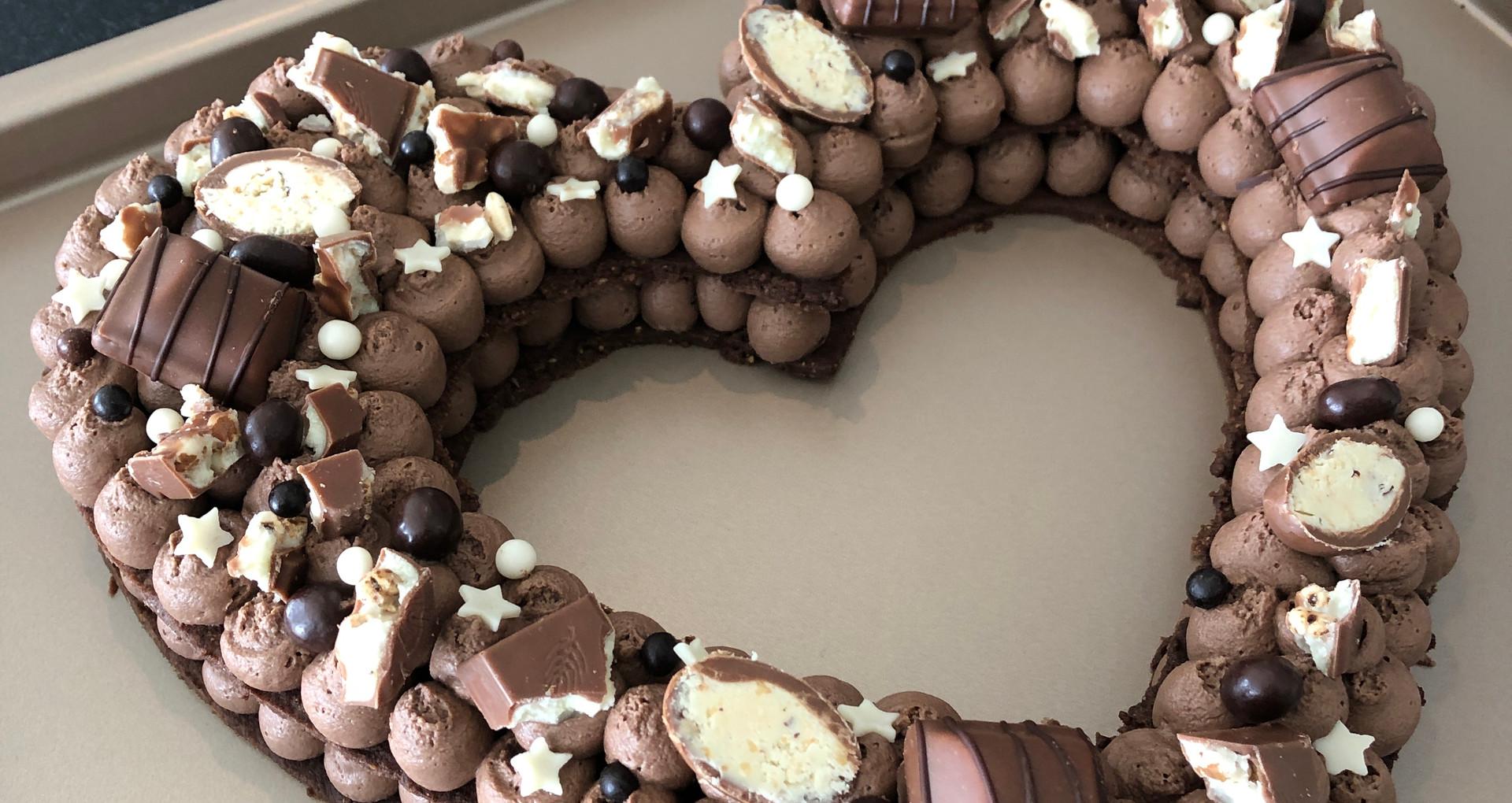 Heart Cake Kinder