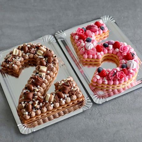 Number/Letter Cakes à partir de 35€
