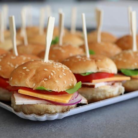 Plateau Mini Burger 60€