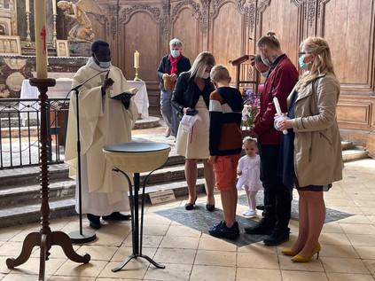 MESSE SAINTE TRINITE HAUTVILLERS BAPTEME