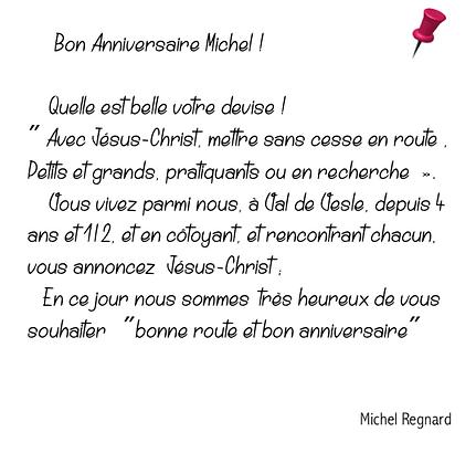 MC MICHEL REGNARD