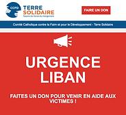 CCFD URGENCE LIBAN