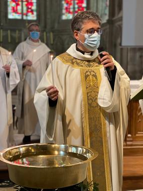 VIGILE PASCALE 2021 AY Père Cyril GOGLIN