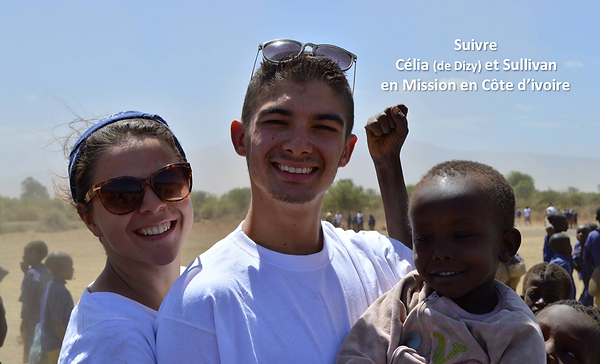 Mission Côte d'Ivoire de Célia et Sulliv