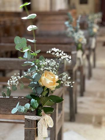 DECO MARIAGE EGLISEBANCS